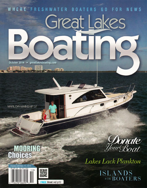 MM32 Great Lakes Boating Oct14 cover